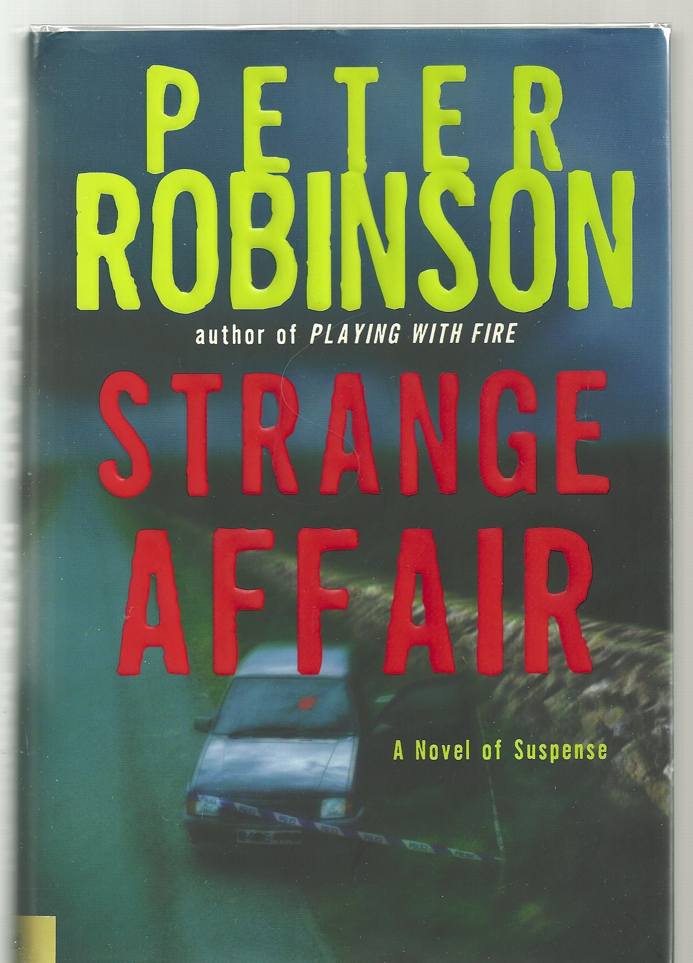 Strange Affair: A Novel of Suspense (Inspector Banks Mysteries), Robinson, Peter