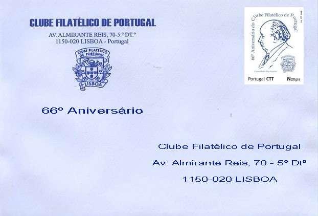Envelope do 66º Aniversário CFP