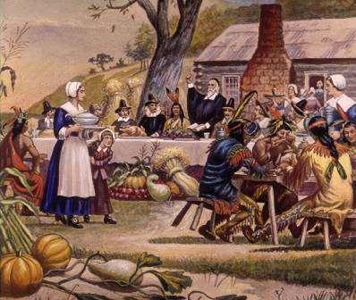 Ação de Graças em 1621